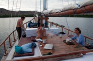 The Deck - Gili Air Meno Divers - Antares Liveaboard Komodo - Croisieres Plongee - Indonesie - Indonesia - Bali - Flores