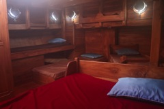 The cabin -  Gili Air Meno Divers - Antares Liveaboard Komodo - Croisieres Plongee - Indonesie - Indonesia - Bali - Flores